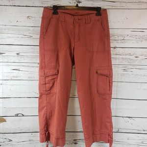 Jag Jeans Cargo Stretch Capri Pants